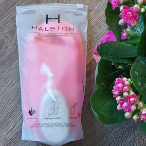 💗 H Halston Aloe Gel Socks Pumice Set